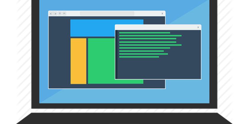 Плоский дизайн сайта Flat Web Design