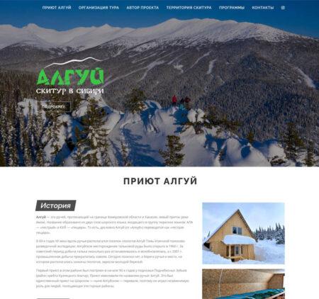Разработка сайта с индивидуальным дизайном